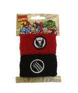 Marvel Comics Wolverine Double Cuff Sweat Bands Pony Tail Wraps 5024 [Je... - $9.89