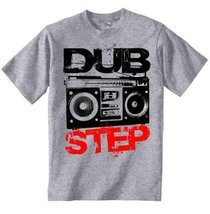 Dubstep Boombox - Amazing Graphic Grey T-Shirt XL [Apparel] - $22.49