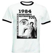 1984 Orwell - New Black Ringer T-Shirt XL [Apparel] - $22.49