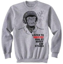 Dubstep Horny And Stoned - Graphic Sweatshirt M [Apparel] - $29.99