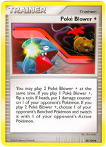 Poke Blower 88/100 Uncommon Trainer Stormfront Pokemon Card - $0.79