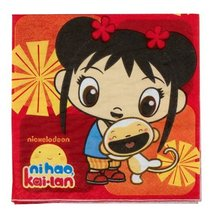 Luncheon Napkins | Ni Hao Kai Lan Collection | Party Accessory - $4.90