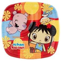 Lets Party By Amscan Ni Hao, Kai-Lan Pocket Dessert Plates - $5.40