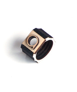 Minimalist laser cut wooden men's ring - model 9/1 - $29.00