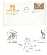 FDC Sc# 934 1315 House of Farnum Cachets Army and Marine Corps Reserve L... - $4.99