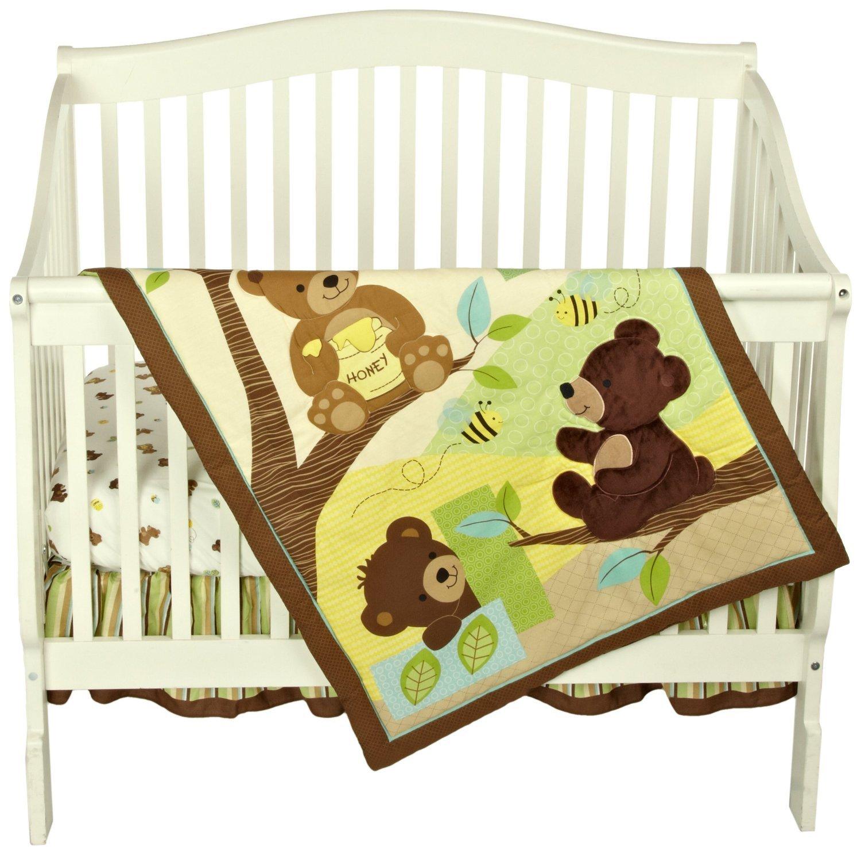 Crib Bedding Set 3 Piece Bedtime Originals Baby Nursery