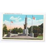 Todd World War Memorial Wilmington DE Tichnor - $9.25