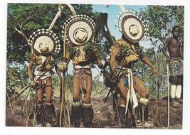 Africa Senegal Bassari Initiation Rites Ritual Ceremony Vtg Postcard 4X6 - $9.45