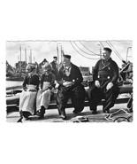 Dutch Girls Seamen Holland Traditional Dress Volendam Real Photo Postcar... - $9.45