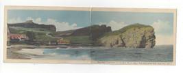 Canada Perce Cap Barre Folded Long Panorama Rosy Peak Three Sisters Vtg ... - $9.45