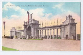 Canadian National Exhibition Toronto Princess Gates Vintage Postcard - $5.70
