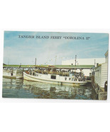 Tangier Island Ferry Dorolena II Rudy Thomas Captain Boat Ship Virginia ... - $8.54