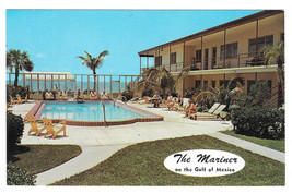 St Petersburg Motel Hotel The Mariner Pool Gulf of Mexico Vtg Florida Po... - $4.74