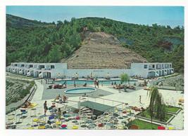 Greece Rodos Bay Hotel Rhodes Swimming Pool Aerial View Vtg Postcard 4X6 - $9.30