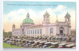 Canadian National Exhibition Toronto Ontario Building Vintage Postcard - $8.54
