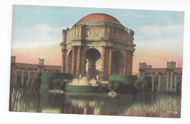 San Francisco CA Fine Arts Palace Pan Pacific Expo Vntg PNC Postcard S.F... - $7.40