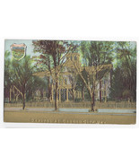 Carson City Nevada State Capitol Embossed Gold Postcard ca 1908 - $9.45