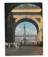 Russia St Petersburg Alexander Column Palace Square Vtg Prepaid Postcard... - $7.40