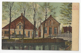 Netherlands Holland Broek in Waterland Modelboerderij Model Farm Vtg Pos... - $7.40