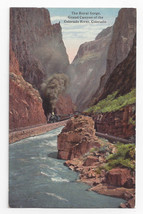 Grand Canyon CO Royal Gorge Colorado River Vintage Curteich Postcard - $5.69
