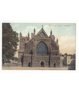 UK Devon Exeter Cathedral Front Vintage ca 1910 Valentine's Series Postcard - $6.36