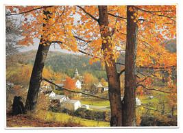 Vermont Village Autumn Impact Photo Print John Wagner Collection Ed Cooper 5 X 7 - $6.36
