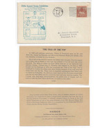 1949 Southern California 5th Annual Stamp Exhibition Tub Mail Cachet Gen... - $9.95