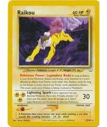 Raikou 21/64 Rare Neo Revelations Pokemon Card - $3.99