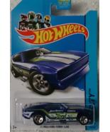 Hot Wheels 2014 HW City Blue Mustang 50th '71 Mustang Funny Car 99/250 New - $3.99