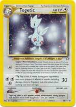 Togetic 16 holo rare neo genesis