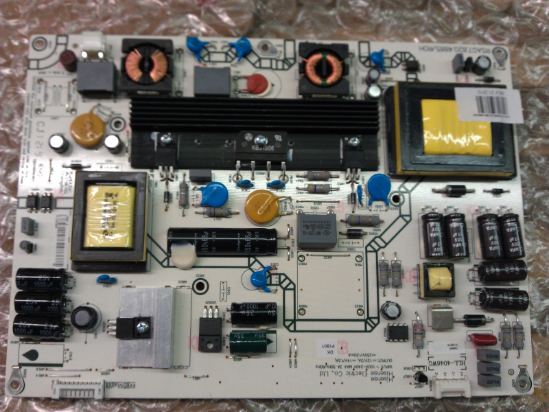 159863 Power Supply Board From Hisense F46K20E LCD TV