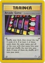 Arcade Game 83/111 Rare Trainer Neo Genesis Pokemon Card - $0.69