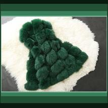 Many Colors Fashion Long Hair Raccoon Dog Fox Fur Long Sleeveless Faux Fur Vest image 4
