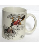 Otagiri Robin Turdus migratorius Bird and Nest Coffee Cup Mug - $37.99