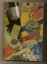 2000 los angeles Dodgers media guide MLB Baseball - $18.70