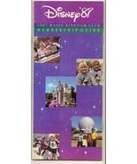 1987 walt disney world resort Magic Kingdom Club brochure guide - $28.05