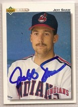 jeff shaw signed autographed card 1992 Upper Deck - $9.90