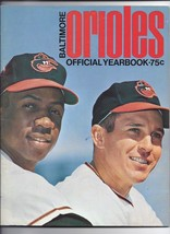 1968 Baltimore Orioles Official Yearbook MLB Baseball - $74.25