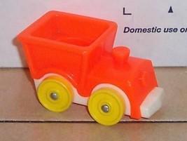 Vintage 80's Fisher Price Little People Orange Train #656 FPLP - $5.90