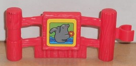 Fisher Price Current Little People Fence Seal FPLP Accessory - $5.90