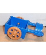 Fisher Price Current Little People Blue Cart FPLP Accessory - $5.90