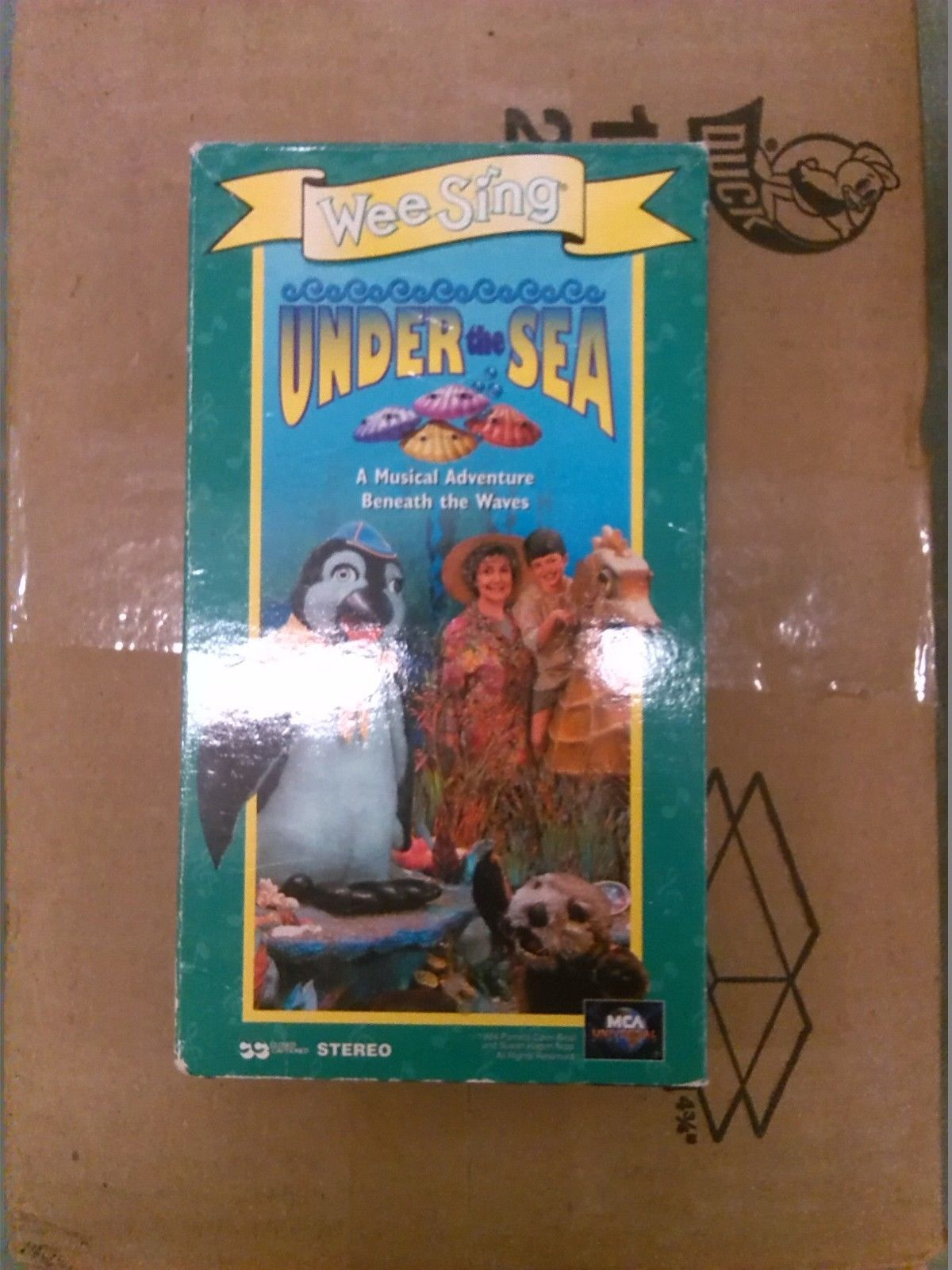 Wee Sing Under The Sea Vhs Tape Oop Rare And 50 Similar Items