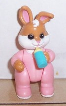 1997 Fisher Price Hideaway Hollow Baby Bunny set #74734 - $11.30