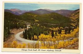 Chicago Creek Rd. Mt. evans Highway Colorado Postcard Unused - $5.90
