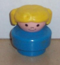 Vintage 90's Fisher Price Chunky Little People Peggy figure FPLP - $5.90