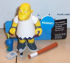 2002 Playmates Simpsons KEARNEY Figure VHTF 100% Complete WOS Series 8 - $14.03