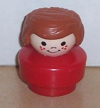 Vintage 90's Fisher Price Chunky Little People Val figure FPLP - $5.90