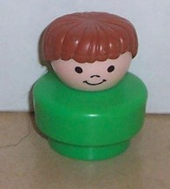 Vintage 90's Fisher Price Chunky Little People Pete figure FPLP - $5.90