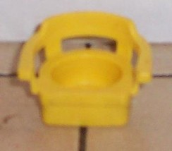 Vintage 80's Fisher Price Little People yellow Chair FPLP - $5.90