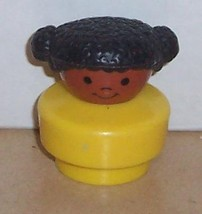Vintage 90's Fisher Price Chunky Little People Aretha figure FPLP - $5.90